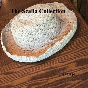 Golden Color Hat from Scalia Collection